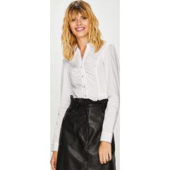 Morgan - Koszula Calam. Szare koszule damskie marki Morgan, s, z elastanu, eleganckie, z długim rękawem. W wyprzedaży za 129,90 zł.