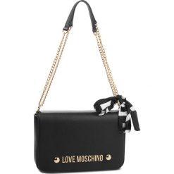 Torebka LOVE MOSCHINO - JC4314PP06KU0000  Nero. Czarne torebki klasyczne damskie Love Moschino, ze skóry ekologicznej, bez dodatków. Za 779,00 zł.