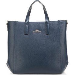 Torebka damska 85-4E-421-7. Niebieskie torebki klasyczne damskie marki Wittchen, w paski. Za 419,00 zł.