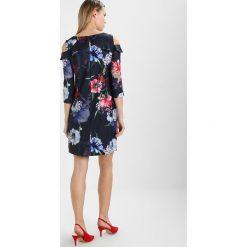 Sukienki hiszpanki: comma KURZ Sukienka letnia dark blue