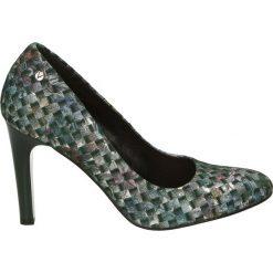 Czółenka - 5211 938 VERD. Szare buty ślubne damskie Venezia, ze skóry. Za 179,00 zł.
