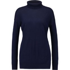 Swetry klasyczne damskie: Baukjen EMMA TURTLENECK  Sweter darkest navy