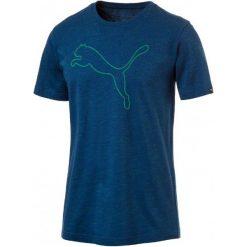 Puma Koszulka Sportowa Brand Cat Logo Tee Lapis Blue Heather S. Brązowe koszulki do fitnessu męskie Puma, m, z materiału. W wyprzedaży za 75,00 zł.