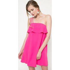 Kiss my dress - Sukienka. Różowe sukienki balowe marki Kiss My Dress, na co dzień, l, z poliesteru, mini, rozkloszowane. W wyprzedaży za 49,90 zł.