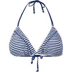 Stroje dwuczęściowe damskie: Biustonosz bikini w kolorze niebiesko-białym