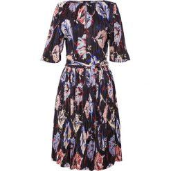 MAX&Co. PIUMA Sukienka letnia black pattern. Czerwone sukienki letnie marki MAX&Co., m, z elastanu. Za 879,00 zł.