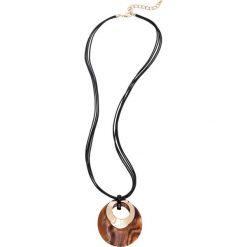 Łańcuszki damskie: Łańcuszek z wisiorkiem bonprix brązowy