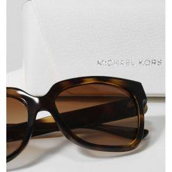 Michael Kors Okulary przeciwsłoneczne havana. Brązowe okulary przeciwsłoneczne damskie aviatory Michael Kors. Za 589,00 zł.