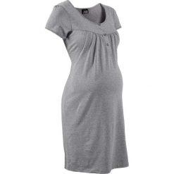 Bielizna nocna: Koszula nocna ciążowa i do karmienia bonprix jasnoszary melanż
