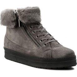 Botki CAPRICE - 9-26470-29 Dk Grey/Black 216. Szare buty zimowe damskie marki Caprice, z gumy. W wyprzedaży za 269,00 zł.