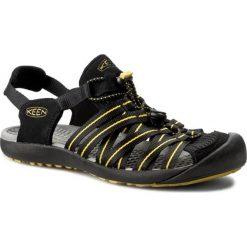 Sandały KEEN - Kuta 1012620 Black/Caylon Yellow. Czarne sandały męskie Keen, z materiału. W wyprzedaży za 229,00 zł.