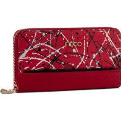 Duży Portfel Damski NOBO - NPUR-0570-C005 Czerwony. Czerwone portfele damskie Nobo, ze skóry ekologicznej. W wyprzedaży za 99,00 zł.