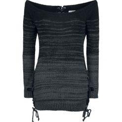 Bluzy damskie: Innocent Thena Top Bluza damska czarny/szary