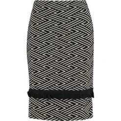 Spódniczki: Anna Field Spódnica ołówkowa  black/creme