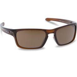 Okulary przeciwsłoneczne OAKLEY - Silver Stealth OO9408-0256 Polished Rootbeer/Prizm Tungsten. Brązowe okulary przeciwsłoneczne męskie aviatory Oakley, z tworzywa sztucznego. W wyprzedaży za 479,00 zł.