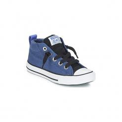 Buty Dziecko Converse  CHUCK TAYLOR ALL STAR STREET MID. Niebieskie trampki chłopięce Converse, retro. Za 219,00 zł.