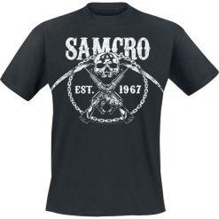 Sons Of Anarchy Chain Gang T-Shirt czarny. Czarne t-shirty męskie z nadrukiem Sons Of Anarchy, m. Za 62,90 zł.