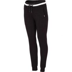 Spodnie dresowe damskie: Spodnie dresowe damskie SPDD232 – głęboka czerń