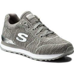 Buty SKECHERS - Low Flyers 709/GYSL Gray/Silver. Szare buty do fitnessu damskie marki KALENJI, z gumy. W wyprzedaży za 209,00 zł.