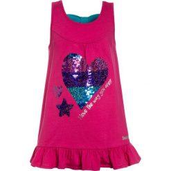 Desigual TERRANOVA Top pink. Niebieskie bluzki dziewczęce bawełniane marki Retour Jeans. Za 169,00 zł.
