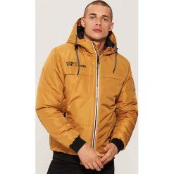 Kurtka z kapturem - Brązowy. Brązowe kurtki męskie marki House, l, z kapturem. Za 229,99 zł.