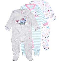 Next UNICORN SLEEPSUITS BABY 3 PACK Piżama pink/white. Białe bielizna chłopięca Next, z bawełny. Za 149,00 zł.