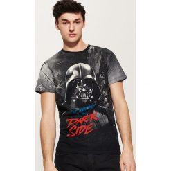 T-shirty męskie: T-shirt star wars – Czarny