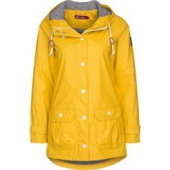 Derbe PENINSULA FISCHER Kurtka przeciwdeszczowa yellow. Żółte kurtki damskie przeciwdeszczowe marki Derbe, z materiału. Za 579,00 zł.