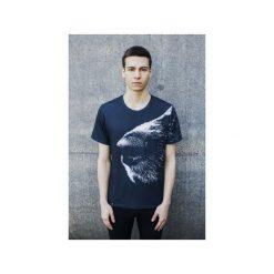 T-shirt Dog's Nose. Szare t-shirty męskie z nadrukiem marki Bahabay, m, z bawełny. Za 83,30 zł.