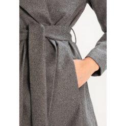 Płaszcze damskie pastelowe: Noisy May NMNURAM Krótki płaszcz grey