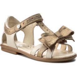 Sandały dziewczęce: Sandały BARTEK – 16182-59X Beżowo Złoty