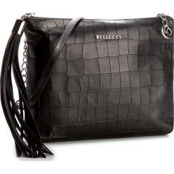 Torebka BELLUCCI - R-315 Czarny Krok/Wąż. Czarne torebki klasyczne damskie marki Bellucci. W wyprzedaży za 209,00 zł.
