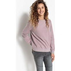 Bluza. Czarne bluzy dziewczęce La Redoute Collections, z bawełny, z długim rękawem, długie. Za 52,46 zł.