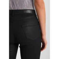 Rurki damskie: Sisley TROUSERS Jeansy Slim Fit black