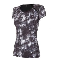 Bluzki damskie: Koszulka treningowa damska TSDF114 - multikolor