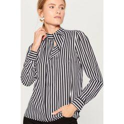 Koszula w paski - Czarny. Czarne koszule damskie Mohito, w paski. Za 89,99 zł.