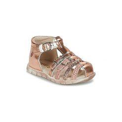 Sandały Dziecko  GBB  PERLE. Czerwone sandały dziewczęce marki OLAIAN. Za 195,30 zł.