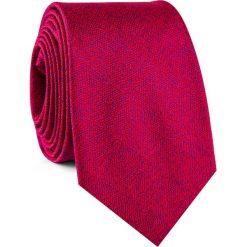Krawat KWTR001830. Czerwone krawaty męskie Giacomo Conti, z mikrofibry, klasyczne. Za 69,00 zł.