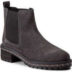Sztyblety BRONX - 46956-B BX 1417 Dark Grey 07. Czarne buty zimowe damskie marki Bronx, z materiału. W wyprzedaży za 239,00 zł.