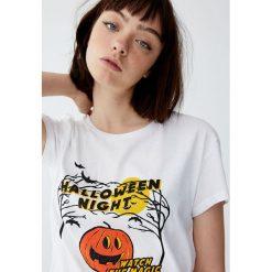 Bluzki, topy, tuniki: Koszulka Halloween z rysunkiem