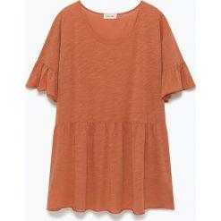 """T-shirty damskie: Koszulka """"Sunybay"""" w kolorze jasnobrązowym"""