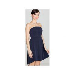 Sukienka K368 Granat. Brązowe sukienki na komunię marki Reserved, m, z gorsetem, gorsetowe. Za 149,00 zł.