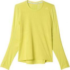 Adidas Koszulka Supernova Long Sleeve Tee żółta r. XS  (B43380). Białe topy sportowe damskie marki Adidas, m. Za 96,49 zł.