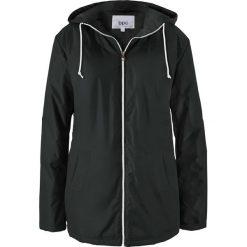 Płaszcz outdoorowy bonprix czarny. Czarne płaszcze damskie bonprix. Za 139,99 zł.