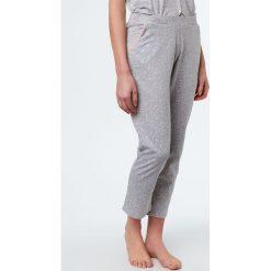 Etam - Spodnie piżamowe. Niebieskie piżamy damskie marki Etam, l, z bawełny. W wyprzedaży za 49,90 zł.