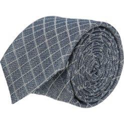 Krawaty męskie: krawat cotton granatowy classic 201