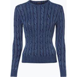 Swetry klasyczne damskie: Polo Ralph Lauren – Sweter damski, niebieski