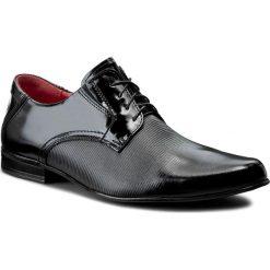 Półbuty SERGIO BARDI - Crispino FW127217517PL 101. Czarne buty wizytowe męskie Sergio Bardi, z lakierowanej skóry. Za 219,00 zł.