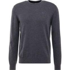 Emporio Armani Sweter piombo melange. Szare swetry klasyczne męskie marki Emporio Armani, l, z bawełny, z kapturem. Za 669,00 zł.
