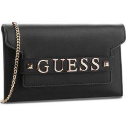 Torebka GUESS - HWVG68 76730 BLA. Czarne torebki klasyczne damskie Guess, z aplikacjami, ze skóry ekologicznej. Za 449,00 zł.